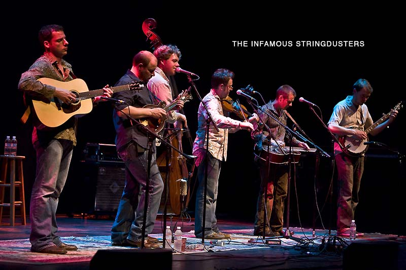 Sings Like Hell, picks likewise : 22nd annual series wraps with solid newgrass set