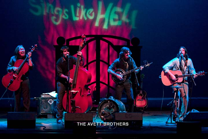 New sounds from the Carolinas – New punk-grass music swept in with Avett Brothers at Sings Like Hell